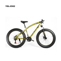 New hot selling products 26 inch front suspension fat bike