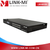 LINK-MI LM-MX08 Factory supply hdmi 8X8 Matrix Auido Video Matrix and switcher 4K HDMI 2.0& HDCP 2.2 vga input combine PC/TV