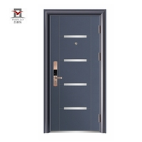 The best price front iron safety door and entrance door made in china