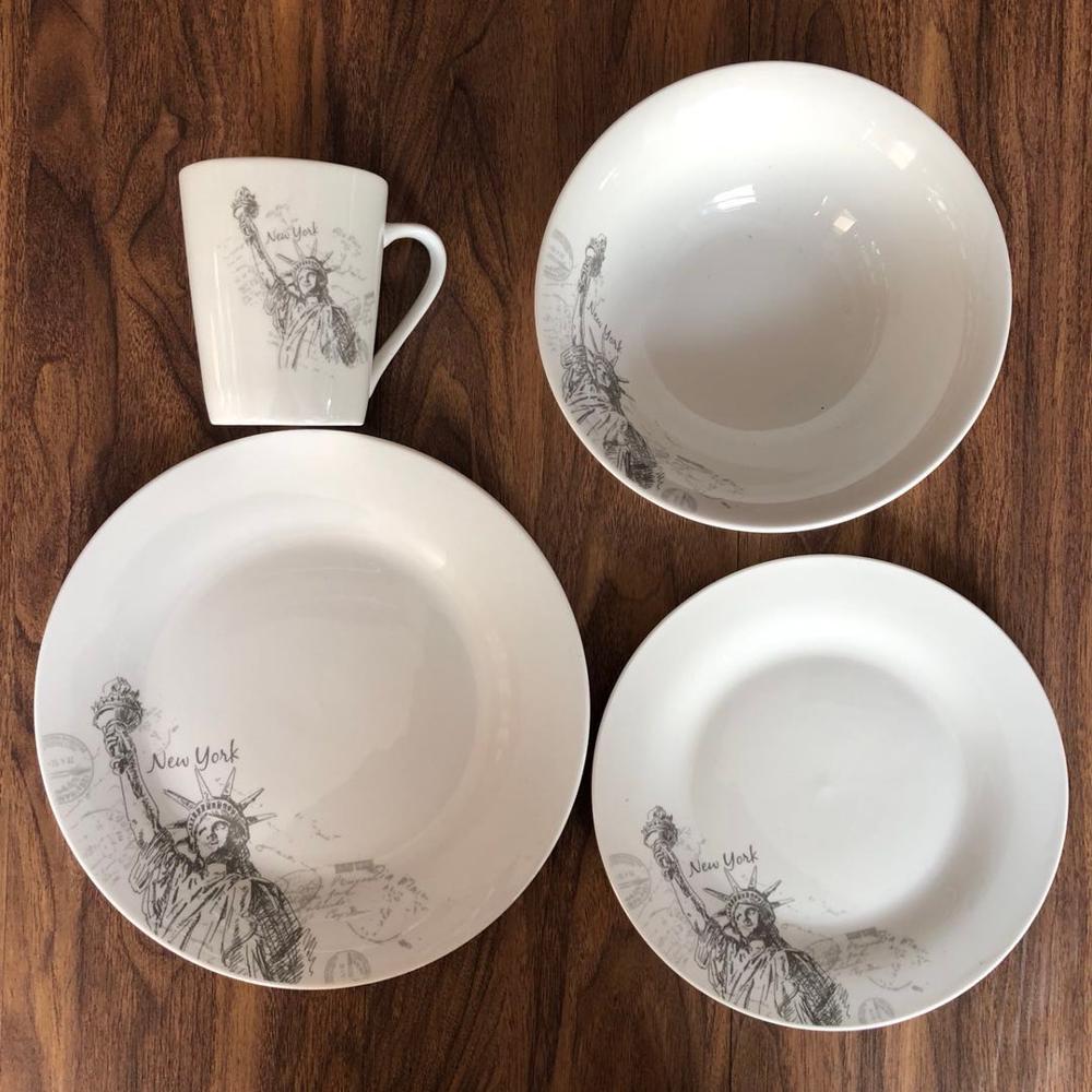 Dinnerware Sets Porcelain 16pcs