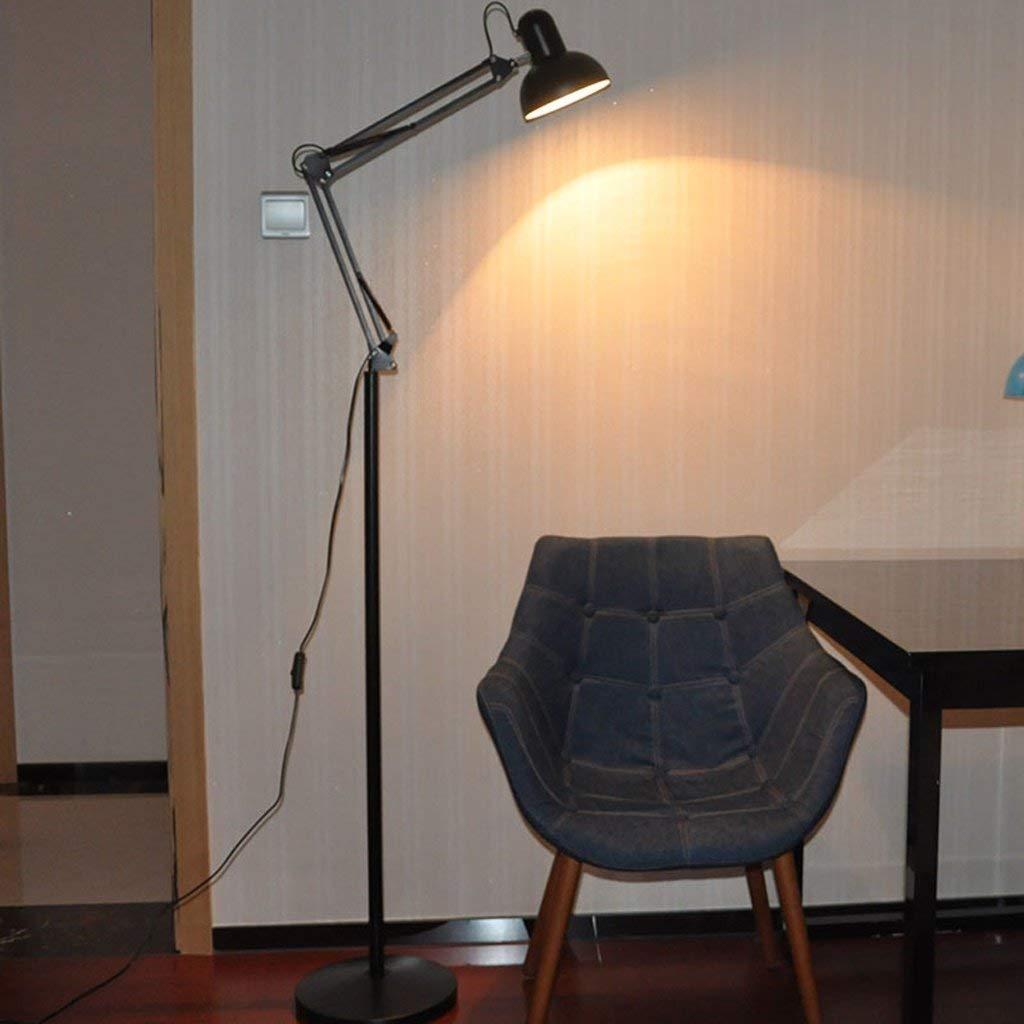 SED Floor Lamp-Led Modern Simple Floor Lamp Living Room Floor Lamp Bedroom Study Lamp Creative Long Arm Vertical Floor Lamp Floor Lamp Eye Protection Vertical Table Lamp