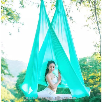 Professional Supplier of High Quality Aerial Yoga Hammock Silk Nylon Low Stretch-20 colours-100% Quality Guarantee!