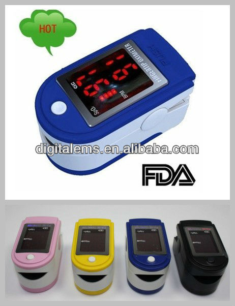 2014 Best Selling Fingertip Pulse Oximeter (AH-50DL) personal pulse oximeter