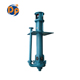 Single stage vertical shaft driven slurry sump pump for mining