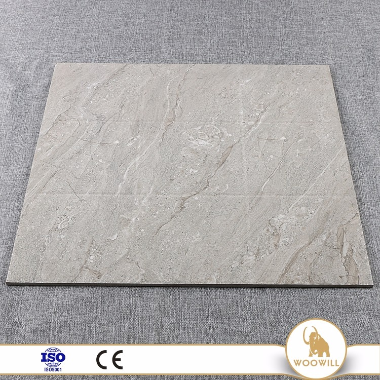Best decoration archaize square dining room ceramic grey limestone tile