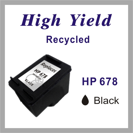 Re-manufactured Ink jet Cartridge for HP 678 Black / Color
