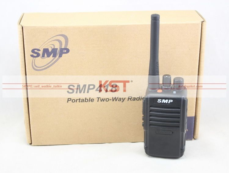 SMP-418 Two Way Radio HT IP54 DTMF UHF/VHF Walkie Talkie