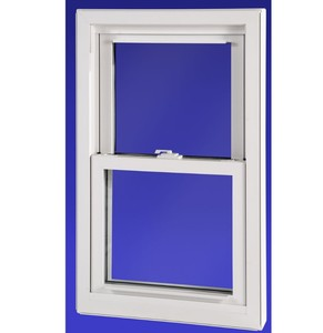American style PVC double glazing style single hung window double hung window