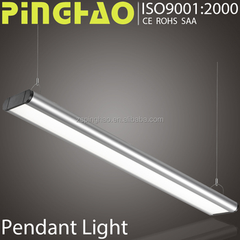 Open Space Office Lighting Design Mit Linearen Aluminium