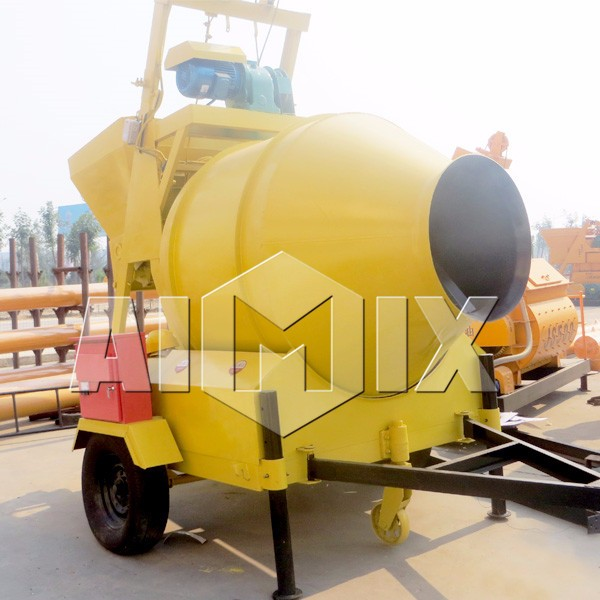 China factory JZM350 electric mobile mixer concrete on sale