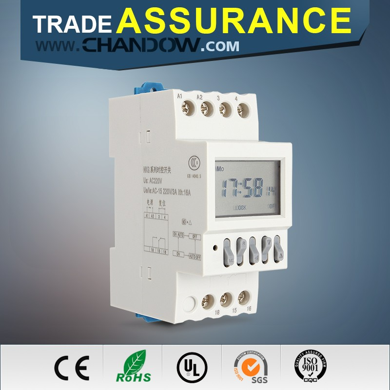 Trade Assurance micro push button relay switch digital timer