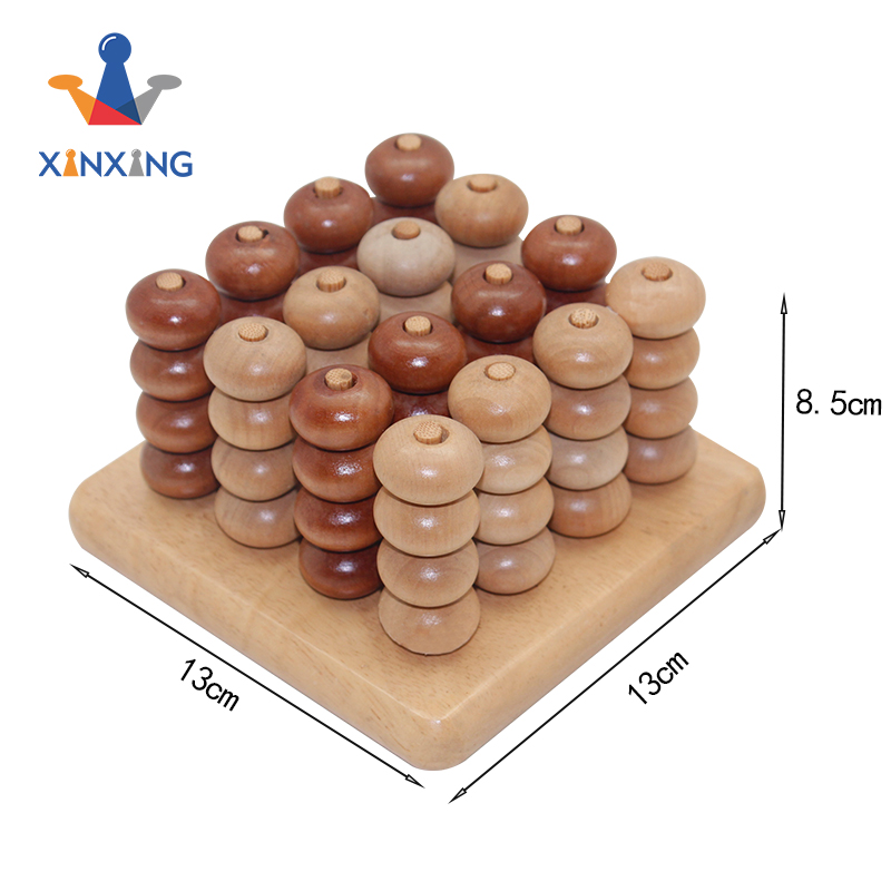 kids toys four in row/connect 4,wooden board game set