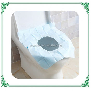 Lovely Ultra Soft Hotel Use Toilet Seat Cover Paper
