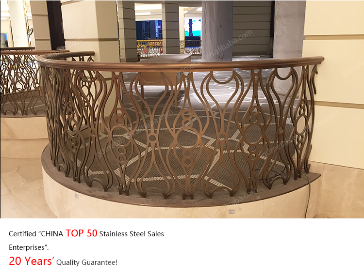 Indoor High Quality Stainless Steel Handrail Railing For Stairs