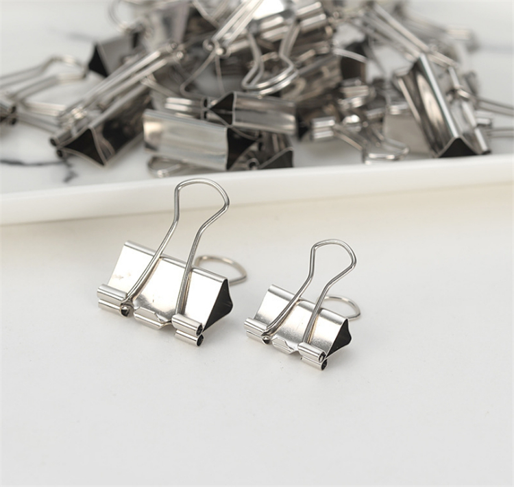 High quality metal paper binder clip