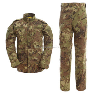 Factory price italy camouflage military uniform
