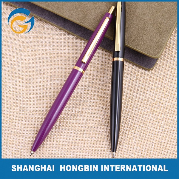 Hot Sell Best Ball Pen Brands Metal Pen with Logo Printing