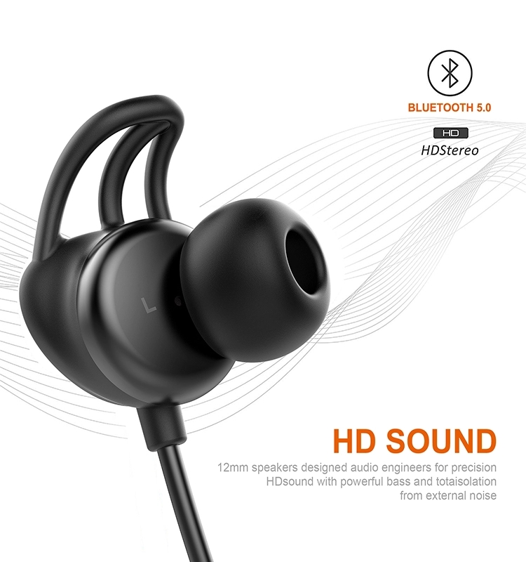 best seller in usa 2019 neckband bluetooth earphone wireless earphone with mic true wireless earphone for sports