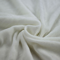 wholesale woven plain dyed nylon silk viscose velvet fabric price for dress garment