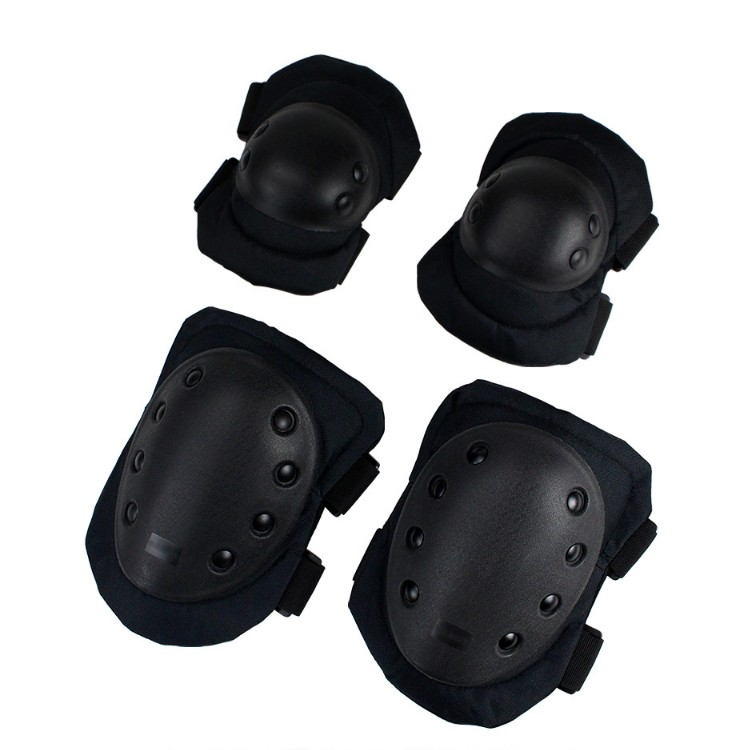 Manufacturer outdoor sport durable personal protection tactical airsoft combat elbow knee pads