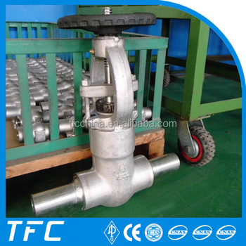 Api 6a Cryogenic Stem Extension Stainless Steel Gate Valve