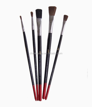 China bulk wholesale art supplies paint brush set artist for Wholesale craft paint brushes
