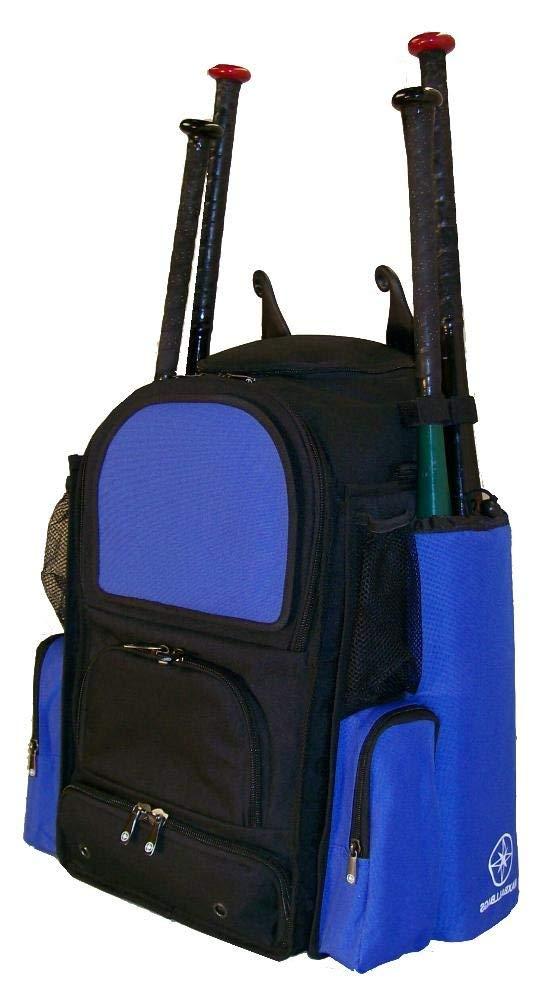 Get Quotations Maxops New Medium Vista M In Black And Royal Blue Softball Baseball Bat Equipment Backpack