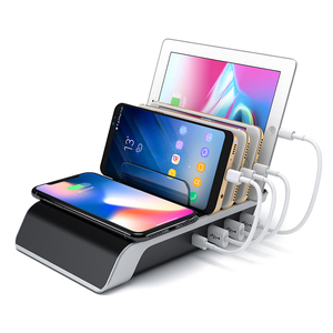 Cell Phone Charger Fast Qi Wireless Charging Station for Apple for iPhone