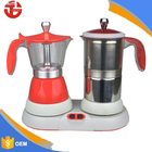 Espresso coffee maker milk frother set special for cappuccinos