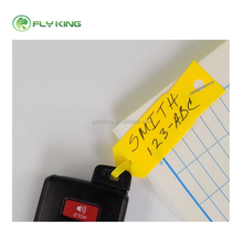 Poly Key Tag, Auto Key Tags, Zelf Lamineren Plastic Automotive Key Tags met Ring