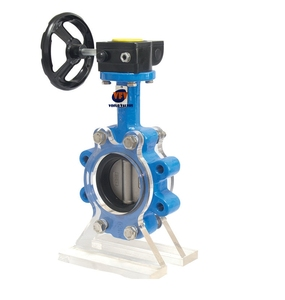 "SHARPE DUCTILE 5"" IRON BUTTERFLY LUG STYLE VALVE"
