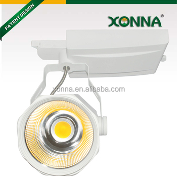 30w 40w Cob Led Track Spot Light For Shop And Store