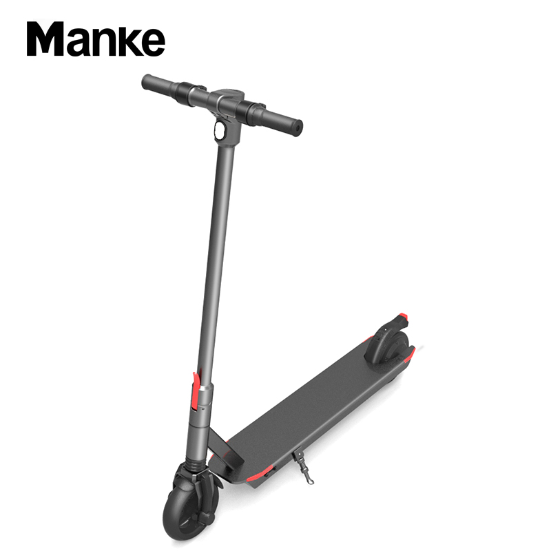 2019 Manke Private Mold Electric Scooter 6.5 inch Scooter for Adult Folding Kick Scooter 230w with Max Mileage 32km