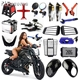 Wholesale Pazoma High Quality Motorcycle Accessory For ATV Streetbike Pit Bike Harley