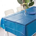 Hot sale Printing PE plastic table cloth