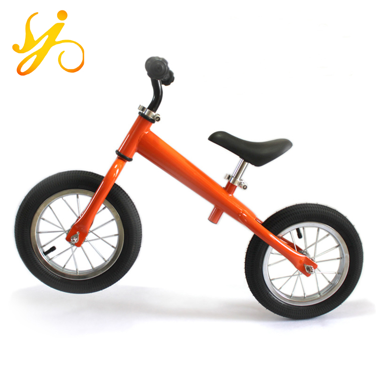 12 inch balance bike import from China/alibaba two wheel kids push bike/china baby cycle balance bike wheels with simple design