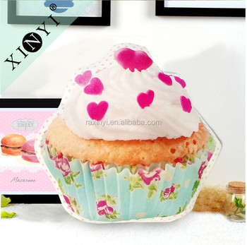 3d Digital Printing Wholesale Cupcake Shaped Cushions Home Decor