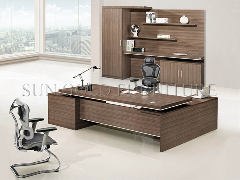 Modern Wooden Office Desk Table Design Sz Od061