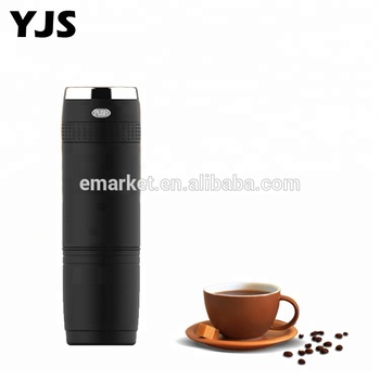 2018 Newest Travel Single Cup Battery Operated Electric Usb Drip 24v Car Mini Espresso Portable Machine Coffee Maker