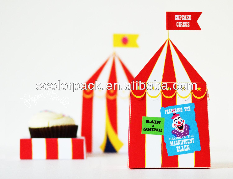 Printable Circus Tent Custom Cupcake Box - Buy Cupcake BoxCupcake BoxCustom Cupcake Boxes Product on Alibaba.com  sc 1 st  Alibaba & Printable Circus Tent Custom Cupcake Box - Buy Cupcake BoxCupcake ...