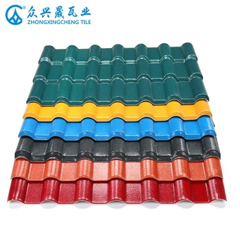 Building materials polycarbonate sheets thatch roof tile for Philippine market