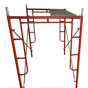 TSX-16123169 American Standard Construction Used Galvanized A Ladder Frame Scaffolding for Sale