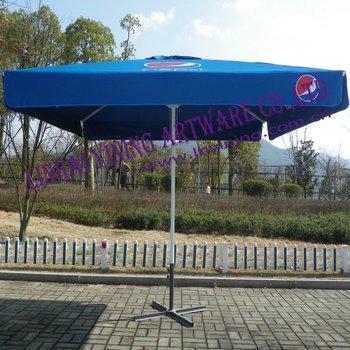 Square Pepsi Printing Outdoor Parasol Buy 300cm Tilt Marketing