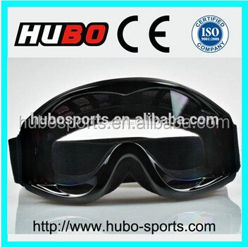 Black cool design anti scratch racing motorcycle sports Goggles for sale