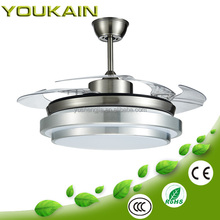 42 Inch Modern home appliance iron material design ceiling fan