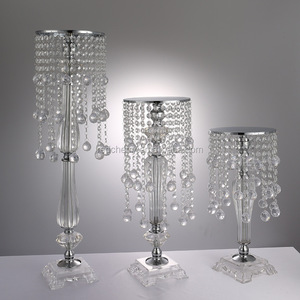 wholesale Creative wedding props Crystal flower holder ornaments Christmas decorations