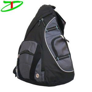 Wholesale Oxford men crossbody bag, fashionable sling backpack with cell phone pocket