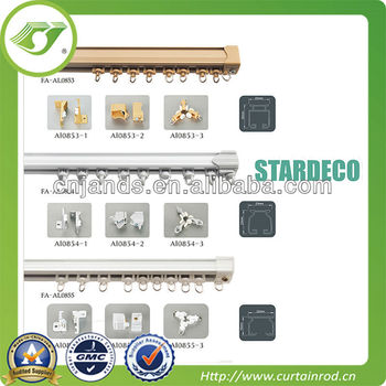 A-0042 High Quality Cheap Aluminum Siding Curtain track