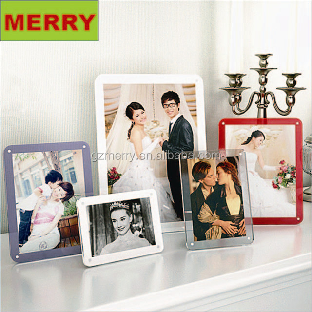 Factory new design good selling wedding acrylic picture frame