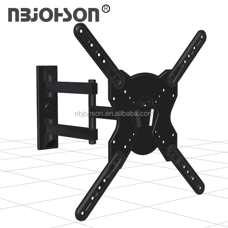 "Full Motion 180 Degrees 17""-56"" Multi Corner Tv Wall Tv Arm Mount,tv bracket"